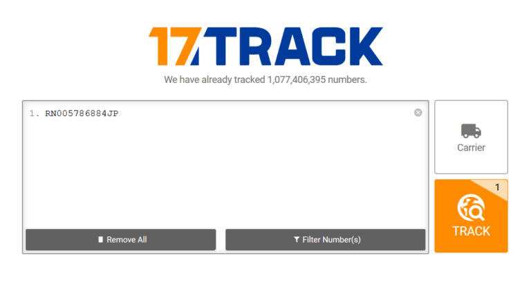 Track your neokyo package